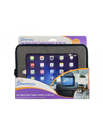 CAR BACK SEAT TABLET HOLDER & MIRROR