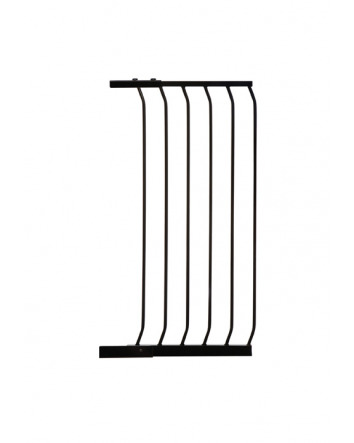 CHELSEA XTRA-TALL 45CM GATE EXTENSION - BLACK