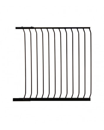 CHELSEA XTRA-TALL 100CM GATE EXTENSION - BLACK