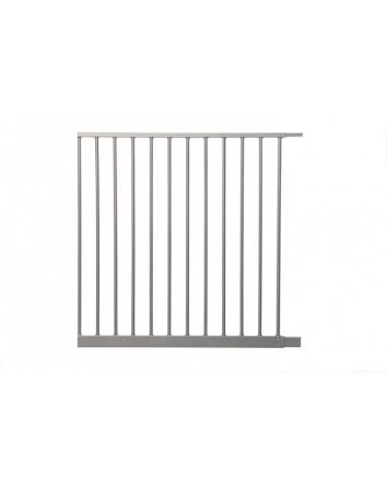 70CM EXTENSION EMPIRE SECURITY GATE SILVER