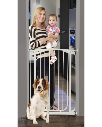 CHELSEA XTRA-TALL AUTO-CLOSE SECURITY GATE - WHITE