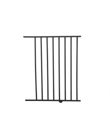 SAVANNAH & ATLANTIS 56CM GATE EXTENSION - SILVER/DARK WOOD