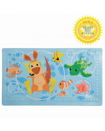WATCH-YOUR-STEP® ANTI-SLIP BATH MAT WITH 'TOO HOT' INDICATOR