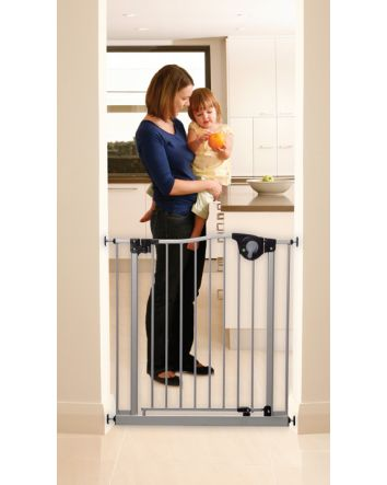 EMPIRE MAGNETIC SURE-CLOSE GATE SILVER - FIT OPENINGS 76-83cm