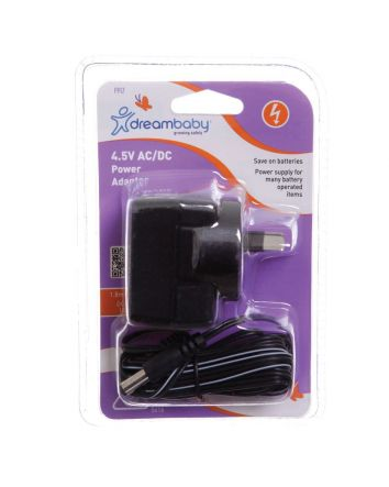 POWER ADAPTOR - 4.5V AC/DC